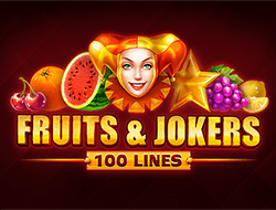 Fruits And Jokers 100 Lines